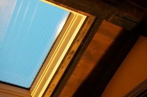 天窓を利用して効率よく明るく!