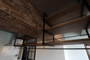 オリジナルアイアン吊り戸棚