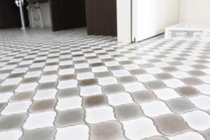 おしゃれな模様の床