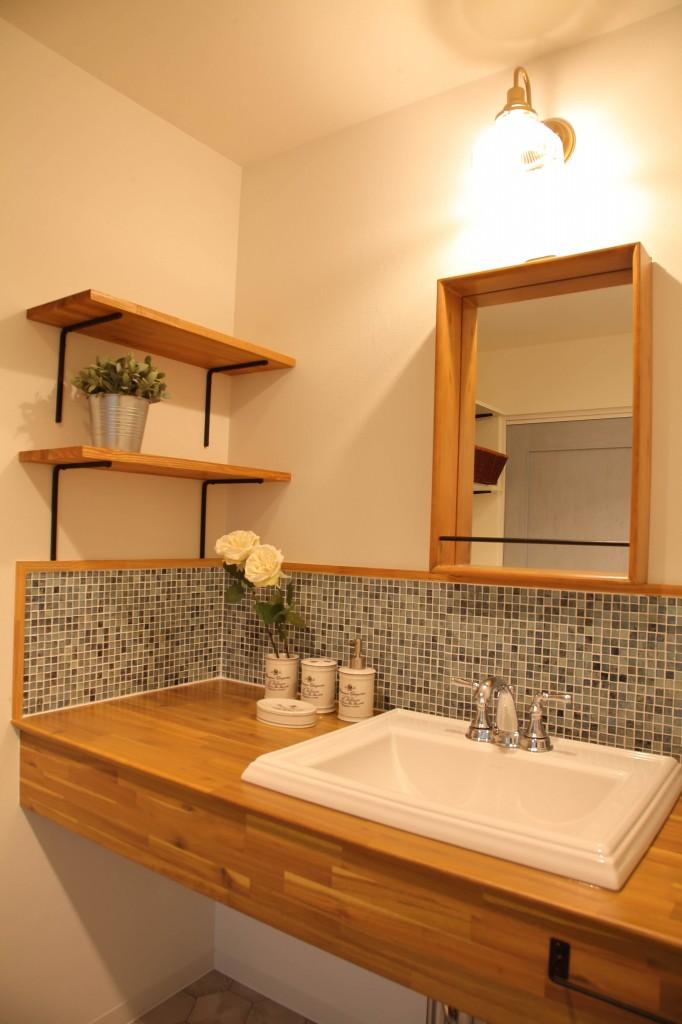 ジオモデル  洗面室
