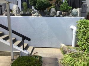 外構塀塗装