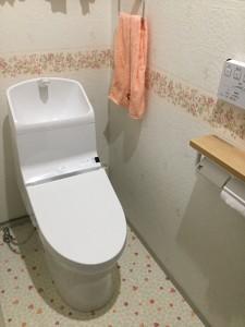 トイレを可愛く変身♪
