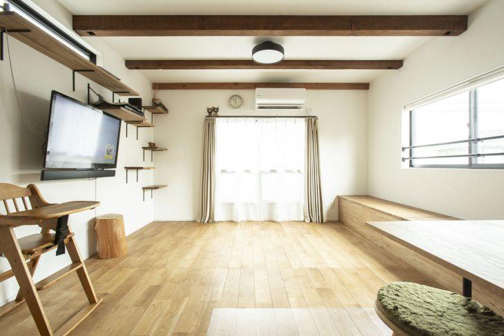 自然感じるナチュラルスタイルのお家。